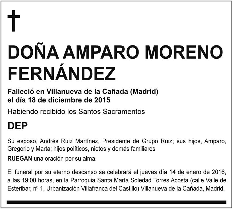 Amparo Moreno Fernández