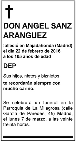 Angel Sanz Aranguez