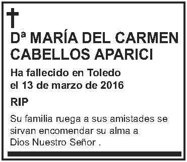 María del Carmen Cabellos Aparici