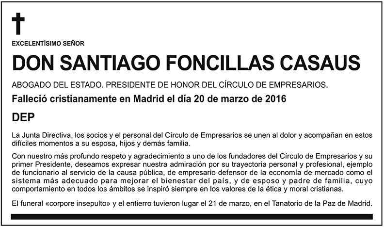 Santiago Foncillas Casaus