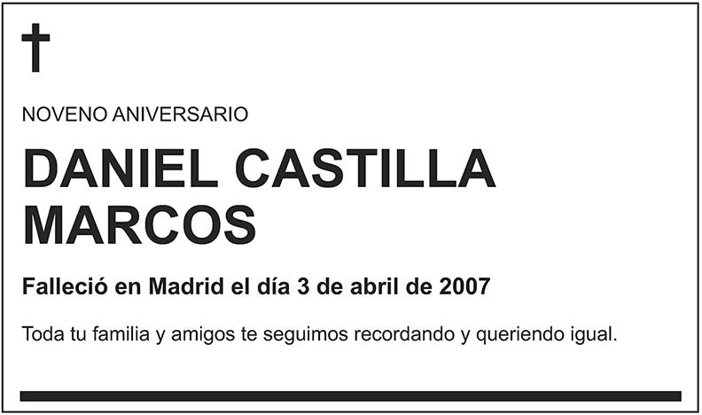 Daniel Castilla Marcos