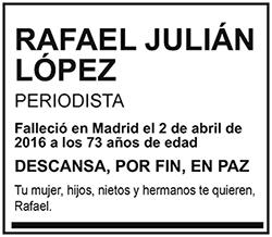 Rafael Julián López