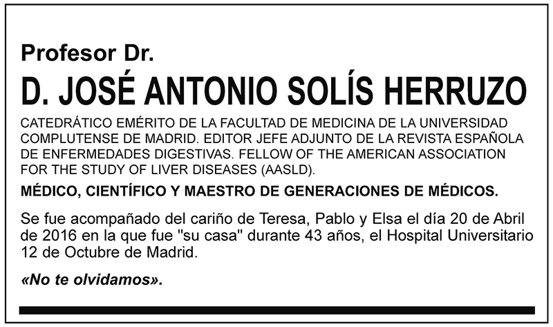 José Antonio Solís Herruzo