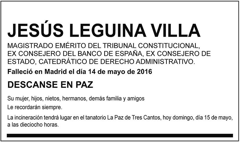Jesús Leguina Villa