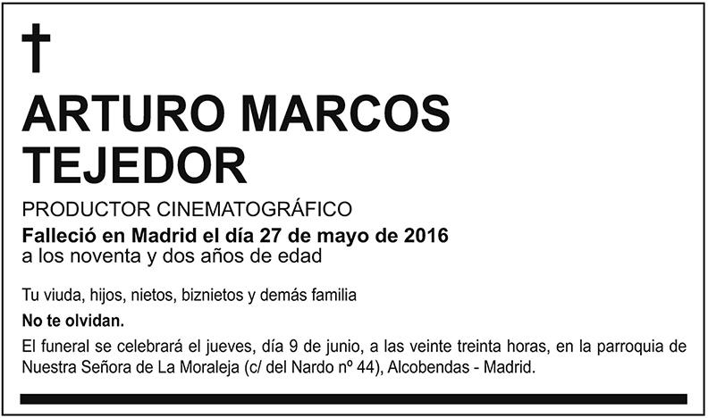 Arturo Marcos Tejedor