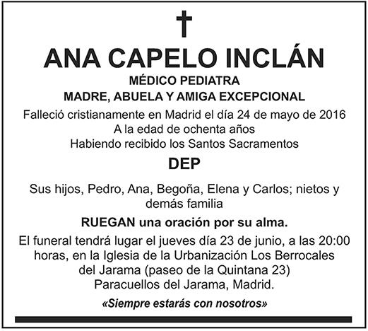 Ana Capelo Inclán