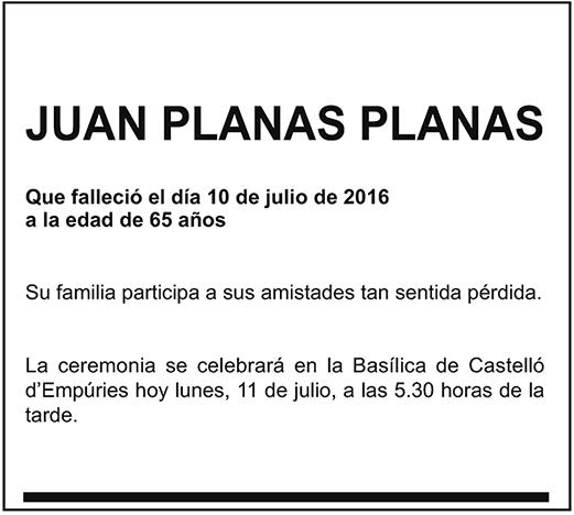 Juan Planas Planas