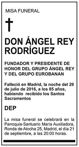 Ángel Rey Rodríguez