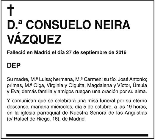 Consuelo Neira Vázquez