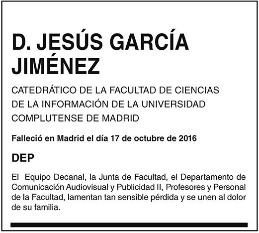 Jesús García Jiménez