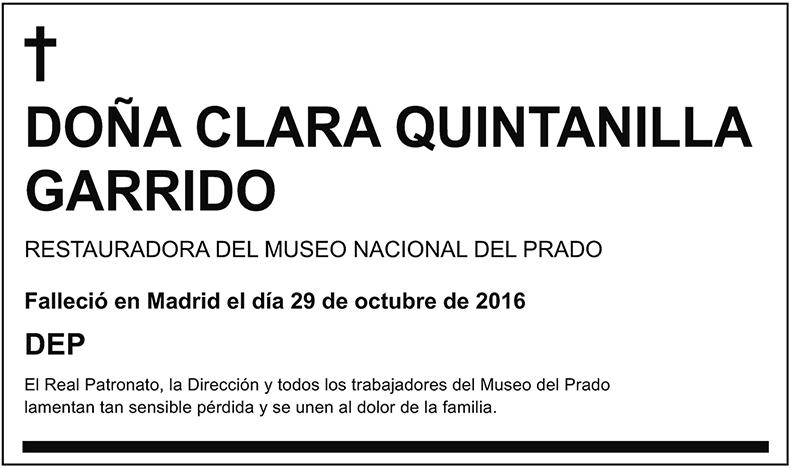 Clara Quintanilla Garrido