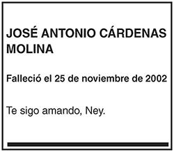 José Antonio Cárdenas Molina