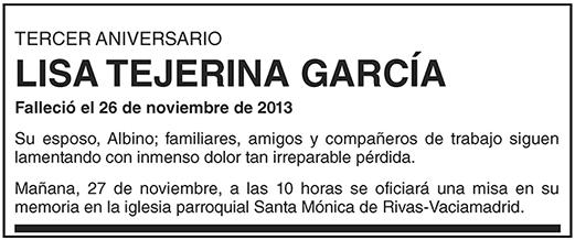 Lisa Tejerina García