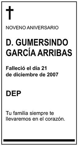 Gumersindo García Arribas