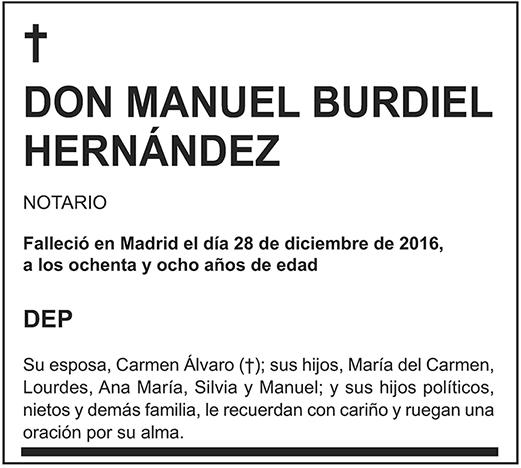 Manuel Burdiel Hernández
