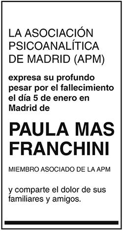 Paula Mas Franchini