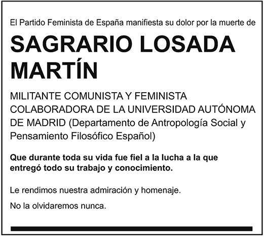 Sagrario Losada Martín