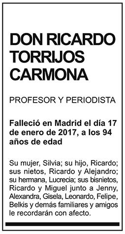 Ricardo Torrijos Carmona
