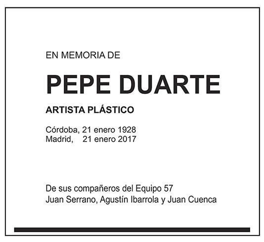 Pepe Duarte