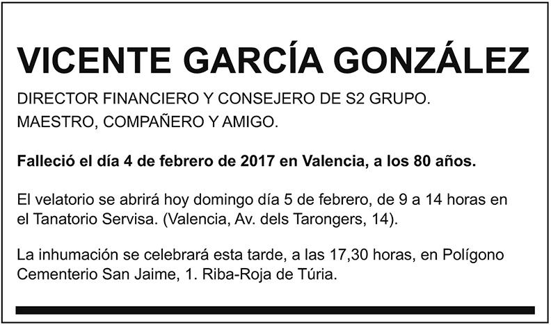 Vicente García González