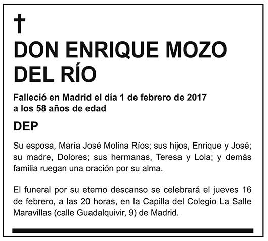 Enrique Mozo del Río