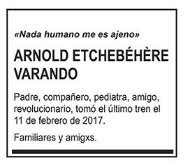 Arnold Etchebéhère Varando