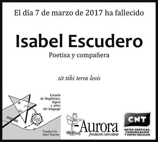 Isabel Escudero