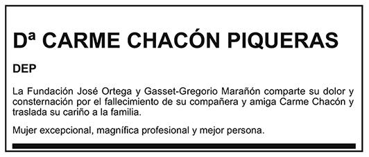 Carme Chacón Piqueras