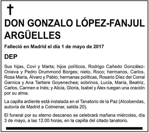 Gonzalo López-Fanjul Argüelles