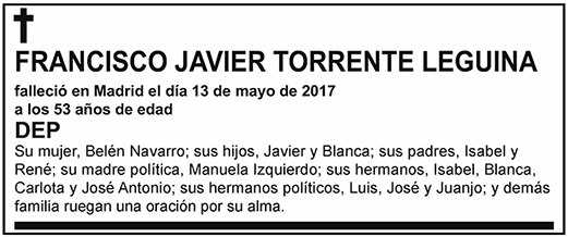 Francisco Javier Torrente Leguina