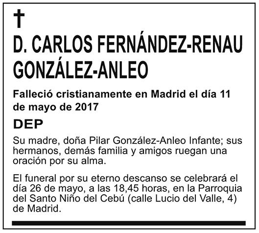 Carlos Fernández-Renau González-Anleo