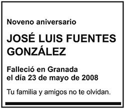 José Luis Fuentes González