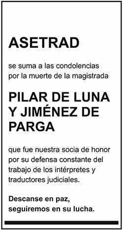 Pilar de Luna y Jiménez de Parga