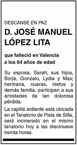 José Manuel López Lita