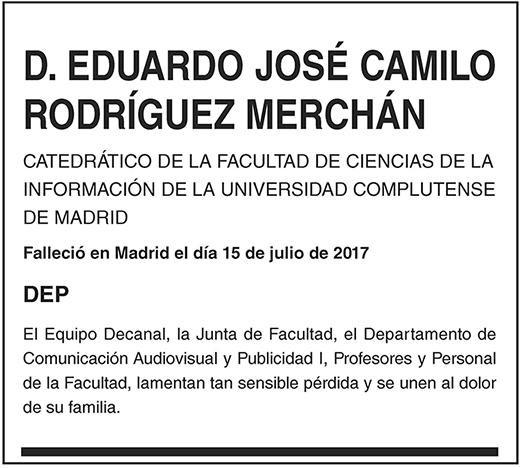 Eduardo José Camilo Rodríguez Merchán