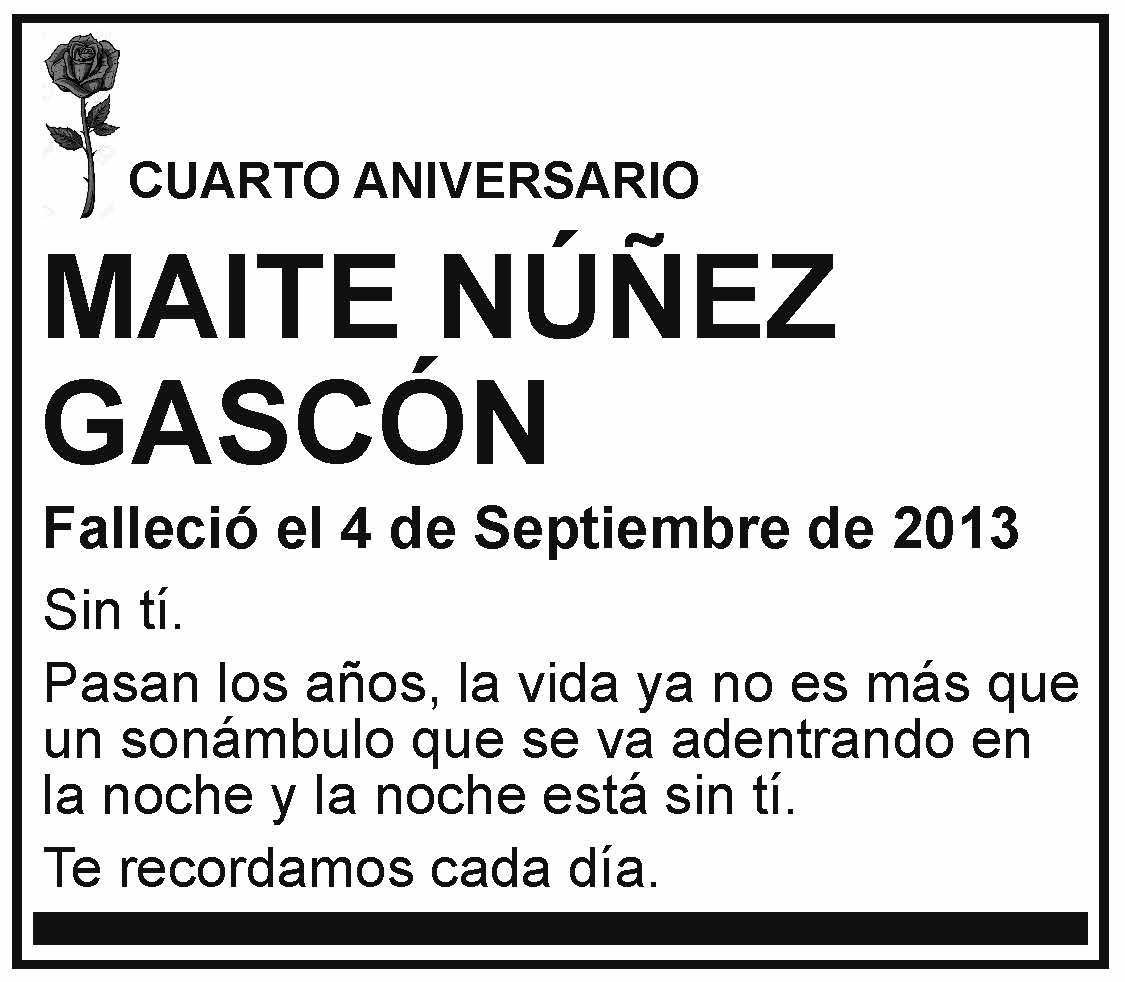 Maite Núñez Gascón